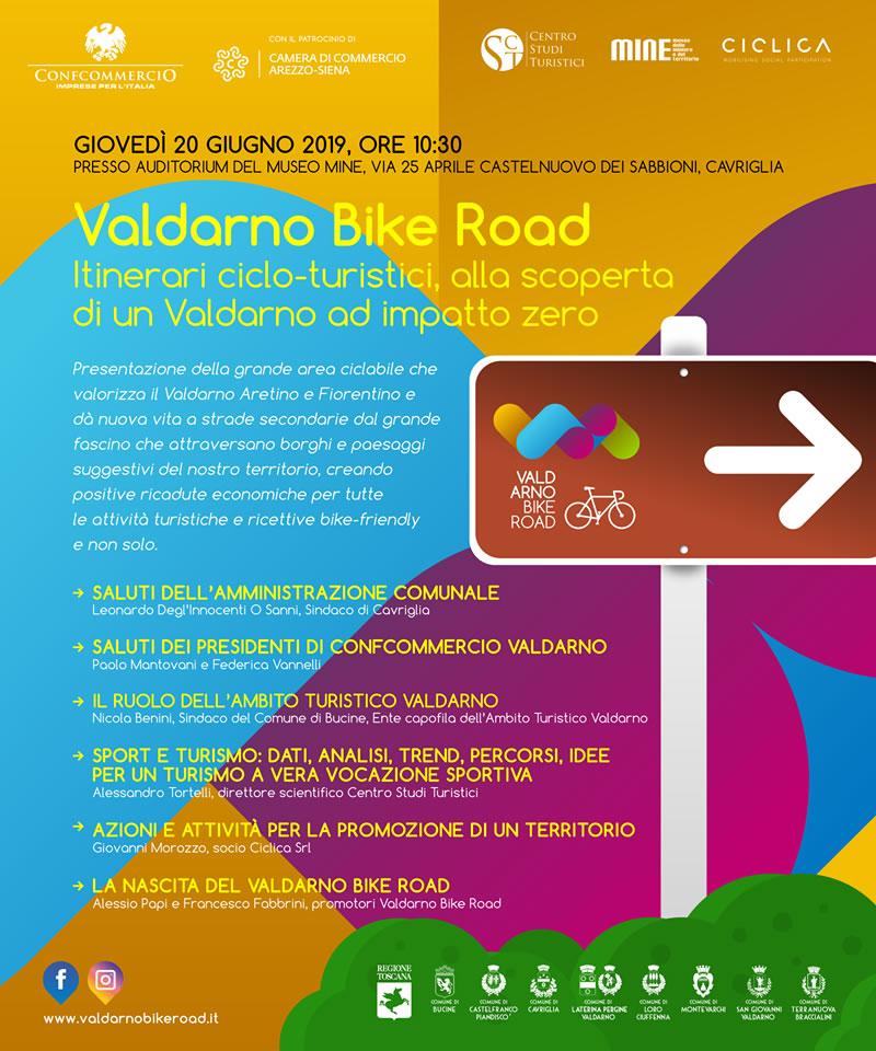 Presentazione Valdarno Bike Road