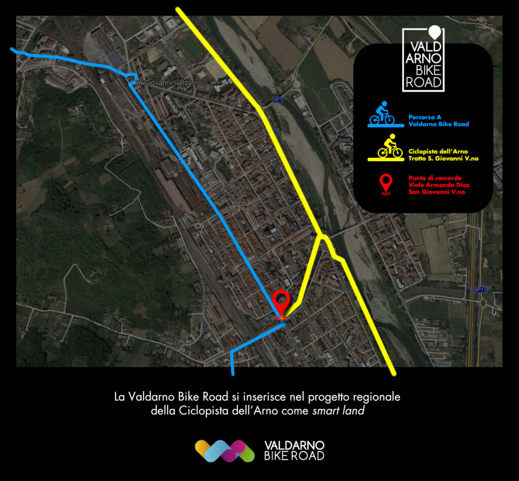 Valdarno Bike Road e Ciclopista dell'Arno